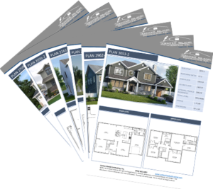 sample plans - we do gut renovation for all new houses built to your customizations!